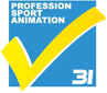 Profession sport animation